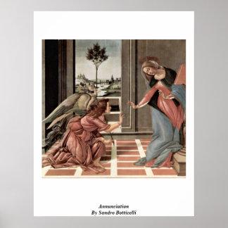 Anuncio de Sandro Botticelli Posters