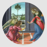 Anuncio de Sandro Botticelli Pegatina Redonda