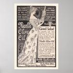 Anuncio del aceite de oliva de Nicelle del vintage Impresiones