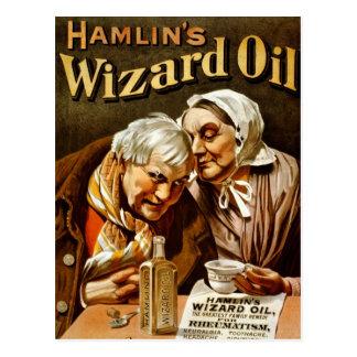 Anuncio del aceite del mago de Hamlin Postales