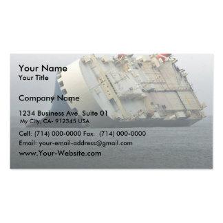Anuncio del as del puma plantillas de tarjeta de negocio