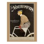 Anuncio del bicyle de Nouveau del arte del vintage Postal