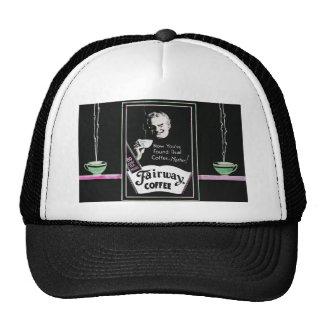 Anuncio del café del vintage - 80 tazas por libra gorras de camionero