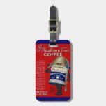 Anuncio del café instantáneo de WWI Etiquetas De Maletas