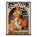 Anuncio del chocolate del mucha de Alfonso del pos Impresiones