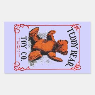 Anuncio del Co del juguete del oso de peluche de Rectangular Altavoz