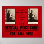 Anuncio del discurso pasado 1907 de McKinley Poster