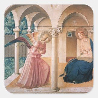 Anuncio del Fra Angelico- Colcomanias Cuadradases
