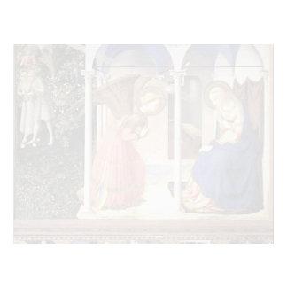 Anuncio del Fra Angelico- Plantilla De Membrete
