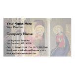 Anuncio del Fra Angelico- Plantillas De Tarjetas Personales