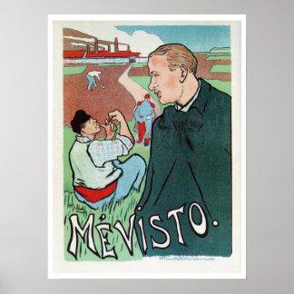 Anuncio del impresionista del artista francés del poster