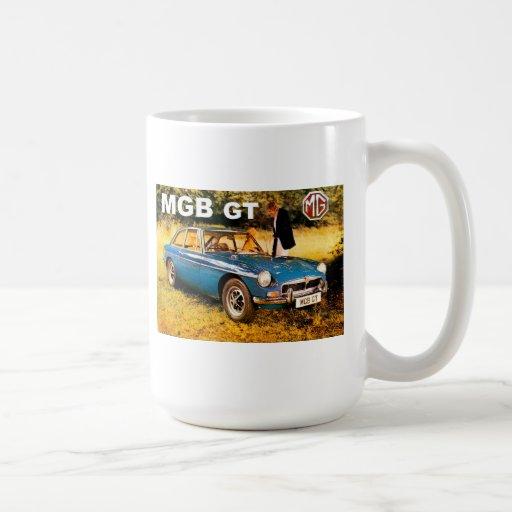 anuncio del mgbgt tazas de café