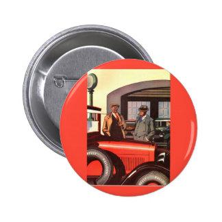 anuncio del neumático de Kelly Springfields de los Pin Redondo De 2 Pulgadas