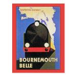 Anuncio del tren de la belleza de Bournemouth del Postal