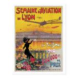 Anuncio del viaje de la semana de la aviación de L Postal
