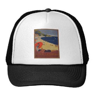 Anuncio del viaje del francés del vintage gorra