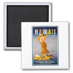 Anuncio del vintage de Imán-Hawaii