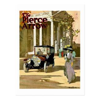 Anuncio del vintage de la flecha de Pierce Postal
