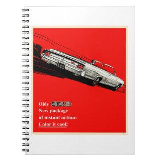 Anuncio del vintage de Oldsmobile 442 Libros De Apuntes