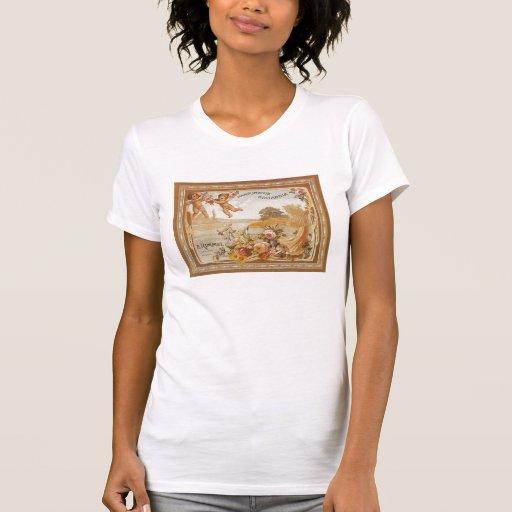 Anuncio del vintage de Parfumerie Britannia - cami Camiseta