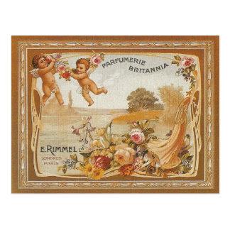 Anuncio del vintage de Parfumerie Britannia Tarjeta Postal