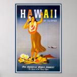 Anuncio del vintage de Poster-Hawaii