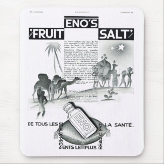 Anuncio del vintage, la fruta Salt, 1931 de Eno Alfombrillas De Raton