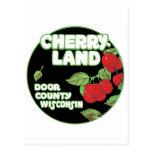 Anuncio del vintage para Cherryland, el condado de