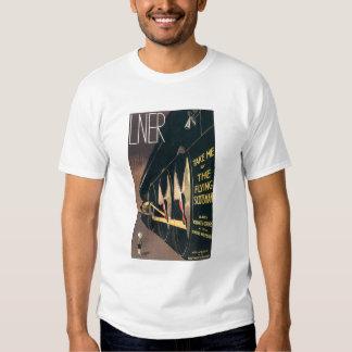 Anuncio del vintage para el tren del Scotsman del Camisas