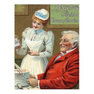 Anuncio del vintage postales