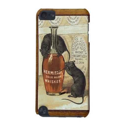 Anuncio del whisky de puré amargo de la ermita del funda para iPod touch 5G