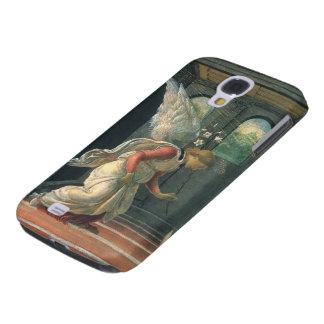 Anuncio (detalle del ángel) por Sandro Botticelli Funda Para Galaxy S4