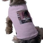Anuncio divertido del poster de la levadura en pol camiseta de perro