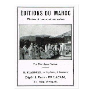 Anuncio, Editions de Maroc Postales