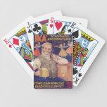 Anuncio estonio del vintage - naipes baraja cartas de poker
