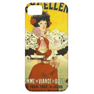Anuncio francés 1895 de la sopa iPhone 5 Case-Mate cárcasa