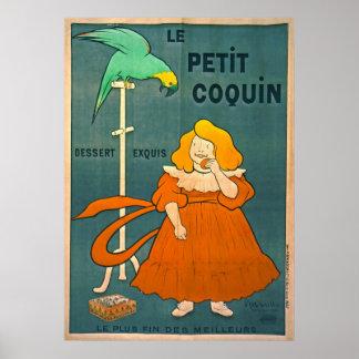 Anuncio francés 1900 del vintage poster