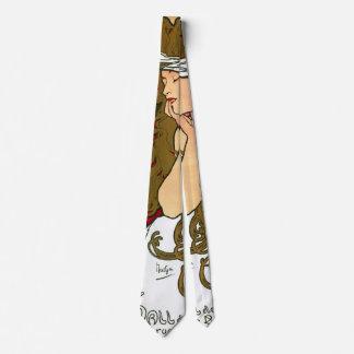 Anuncio francés 1901 de la galería corbatas personalizadas