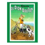Anuncio francés de la bicicleta de los años 20 del postales
