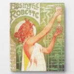 Anuncio francés del poster del vintage de Blanqui Placas Para Mostrar