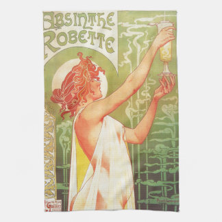 Anuncio francés del poster del vintage de Blanqui Toalla
