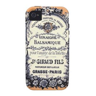 Anuncio francés del vinagre balsámico Case-Mate iPhone 4 fundas