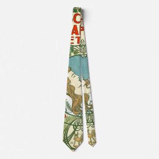 Anuncio holandés 1898 del vintage corbatas