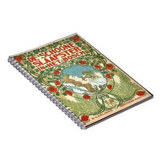 Anuncio holandés 1898 del vintage note book