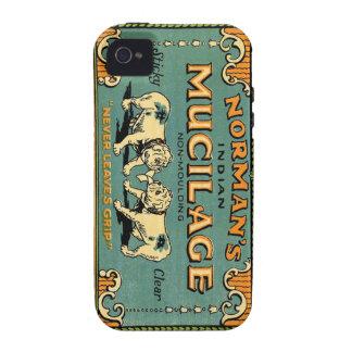 Anuncio indio del dogo del mucílago de los iPhone 4/4S funda