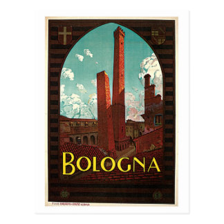 Anuncio italiano del viaje de los años 20 de postal