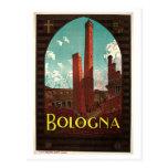 Anuncio italiano del viaje de los años 20 de tarjetas postales