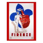 Anuncio italiano del viaje de los años 30 de postales