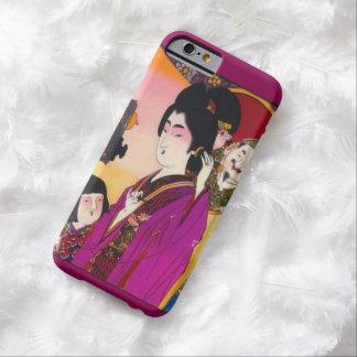 Anuncio japonés del vintage para el caso de Iphone Funda De iPhone 6 Barely There