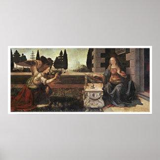 Anuncio, Leonardo da Vinci, 1473 Póster